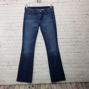 """7 for all Mankind """"Bootcut"""" jeans"""